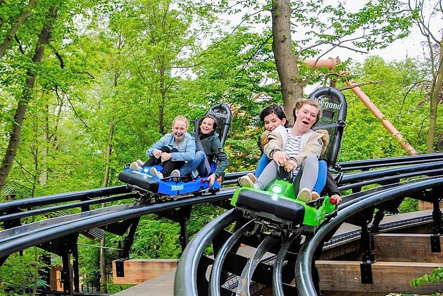 Dawson Duel, Duelling Alpine Coaster in Bellewaerde