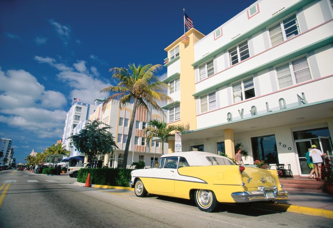 Florida Miami South Beach art deco Visit Florida