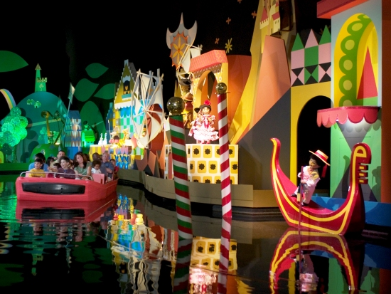 WDW MK Small World Italie 11pers