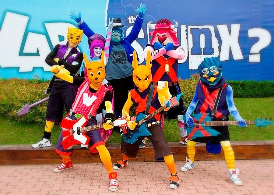De muziekbands van Walibi