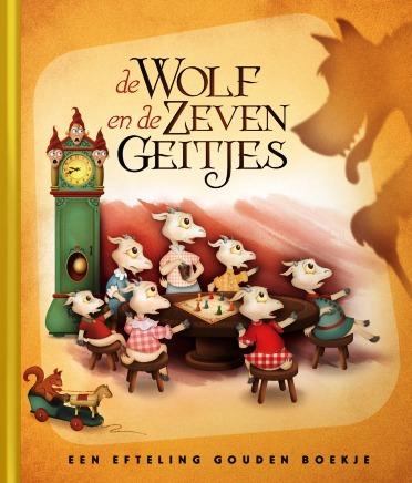 Eft 1 Gouden Boekje Wolf zeven geitjes