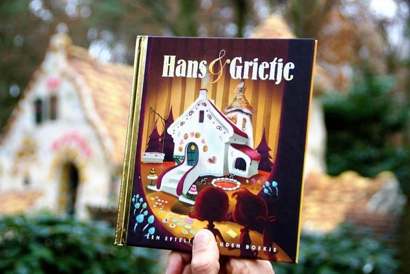 Efteling Gouden Boekje Hans & Grietje - © Foto: Adri van Esch