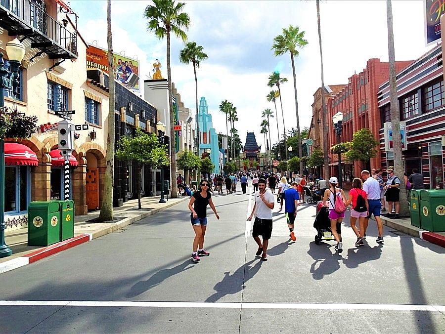 Hollywood Boulevard in Hollywood Studios in Walt Disney World - Foto: © Adri van Esch