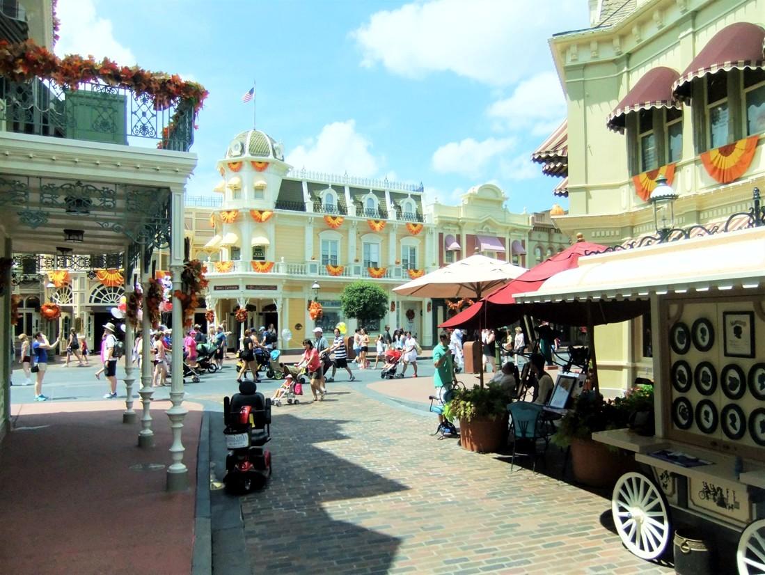 Main Street, U.S.A. in Magic Kingdom in Walt Disney World - Foto: (c) Adri van Esch