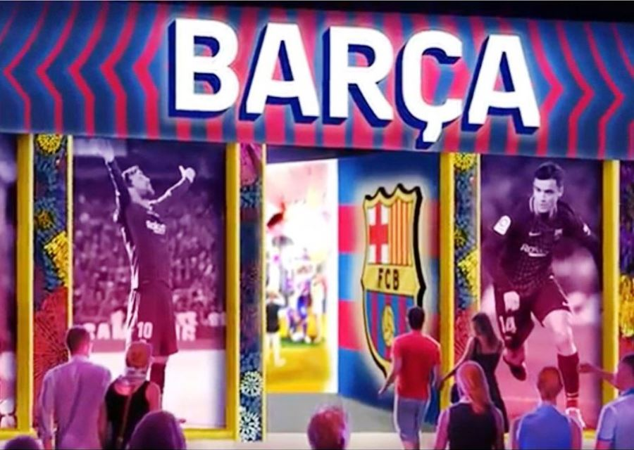 Family entertainment centra rond FC Barcelona