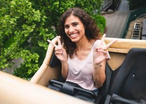 Jessica de Jong is RollerCoasterGirl 2018 - Foto: Mack Rides
