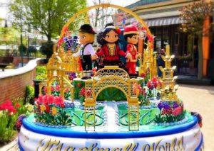 Walt Disney World verzorgde één van de praalwagens in de jubileumparade van Tivoli in Kopenhagen