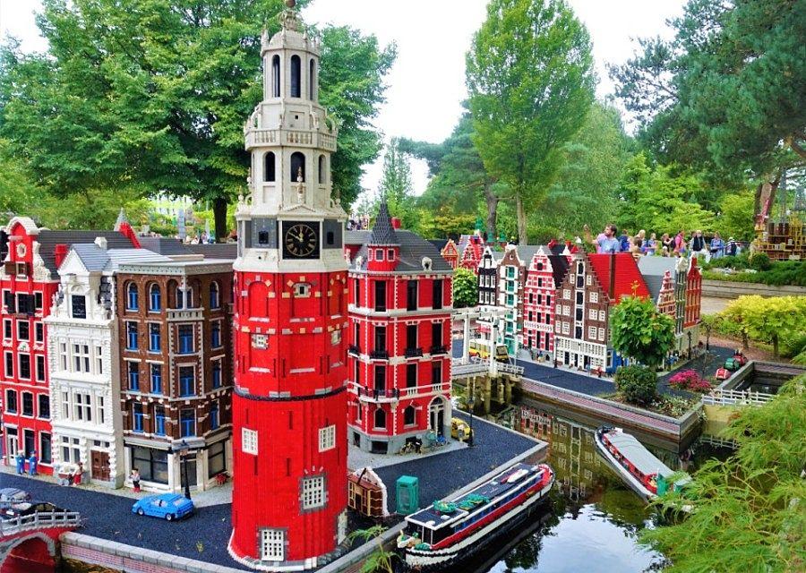 Amsterdam in Legoland Billund - Foto: © Adri van Esch