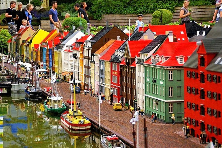 Nyhavn in Kopenhagen in Legoland Billund - Foto: © Adri van Esch