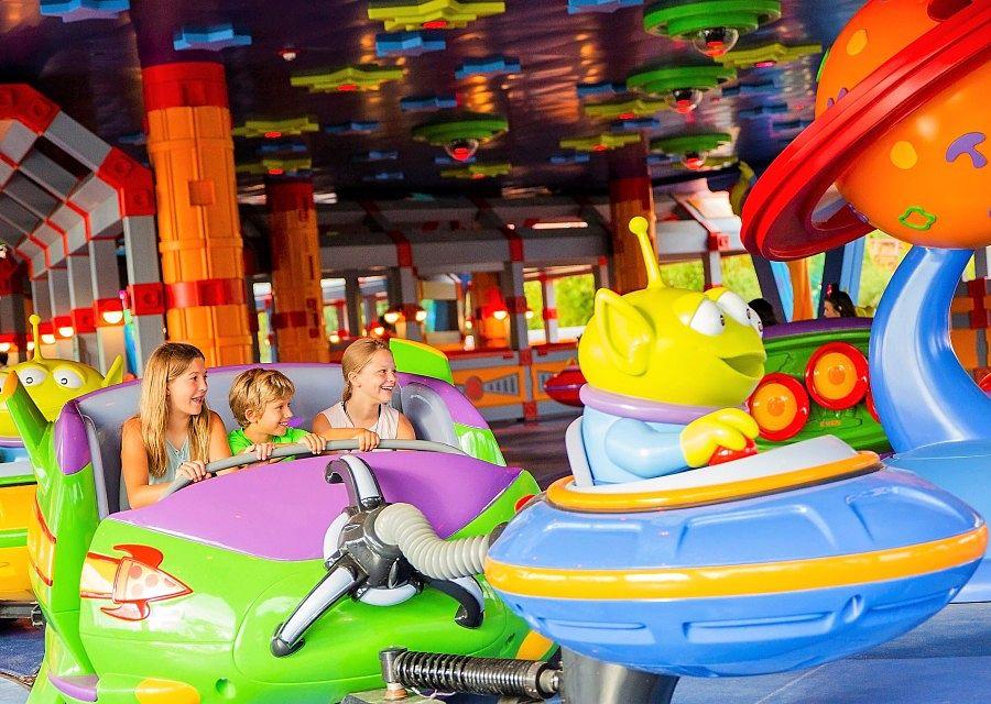 Alien Swirling Saucers in Disney's Hollywood Studios - Foto: © Disney / Matt Stroshane