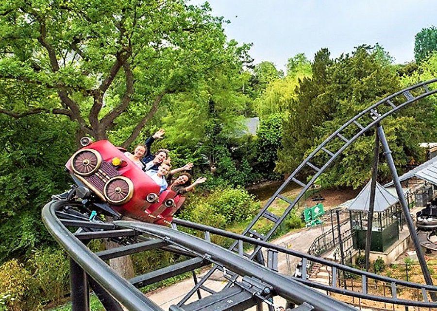 Speed Rockets in Jardin d'Acclimatation in Parijs