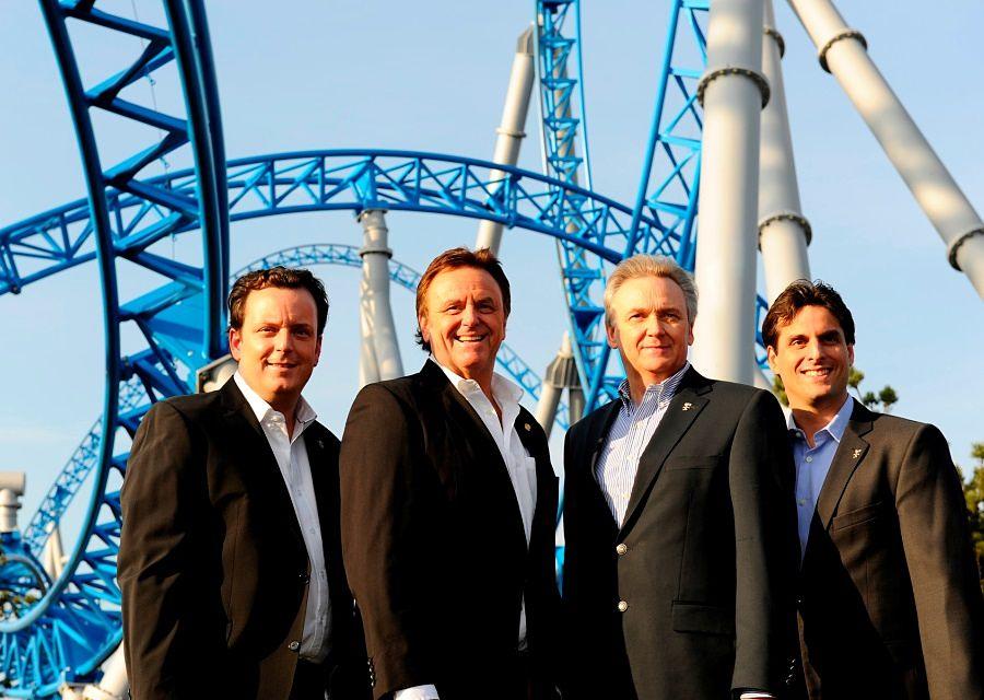 Michael, Roland, Jürgen en Thomas Mack (v.l.n.r.), eigenaren en directeuren van Europa-Park