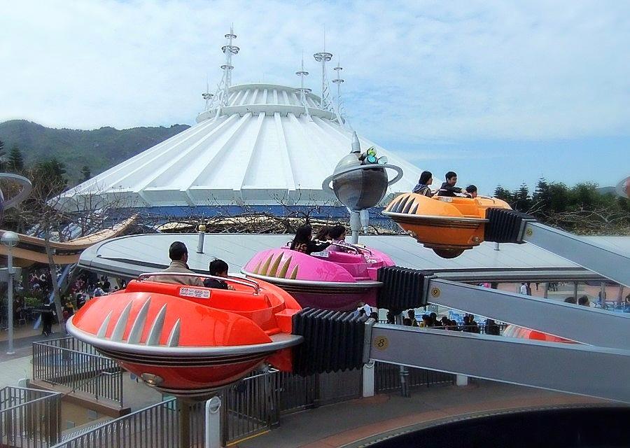 Tomorrowland in Hong Kong Disneyland - Foto: © Adri van Esch