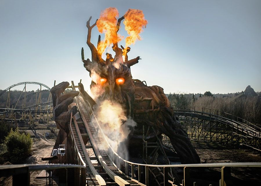 Colossos, Kampf der Giganten in Heide-Park
