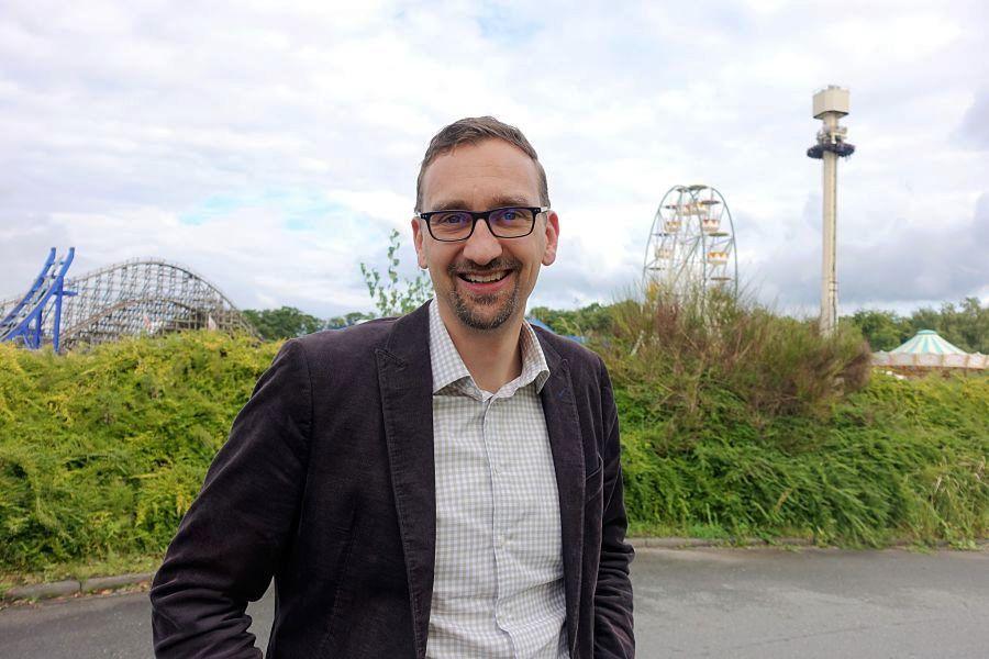 Thorsten Backhaus, directeur van Movie Park Germany - Foto: © Adri van Esch