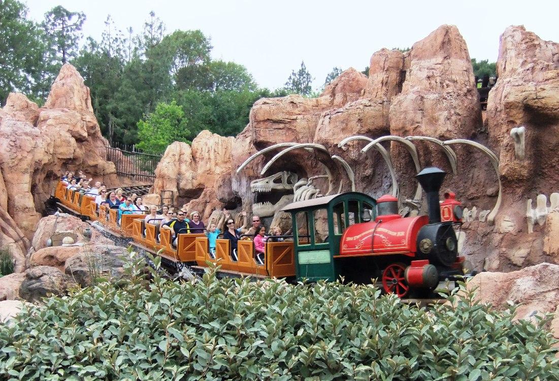 Big Thunder Mountain in Disneyland in Anaheim - Foto: © Adri van Esch