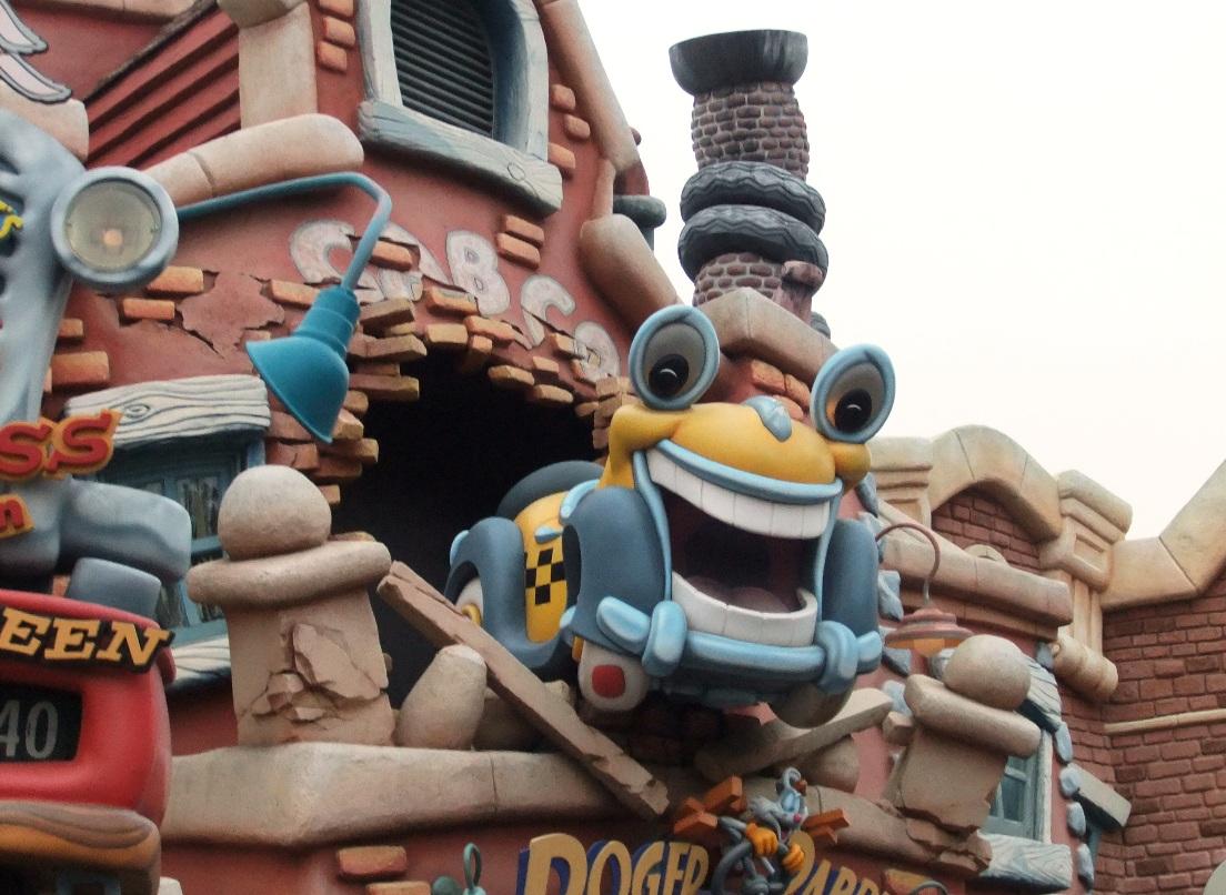 Roger Rabbit's Car Toon Spin in Disneyland in Anaheim - Foto: © Adri van Esch