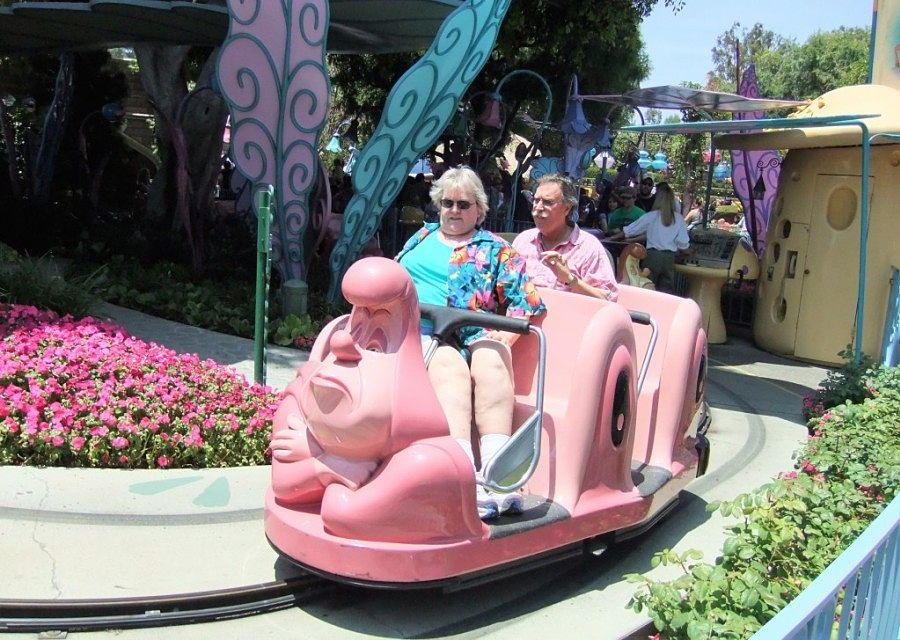 Alice in Wonderland in Disneyland in Anaheim - Foto: © Adri van Esch