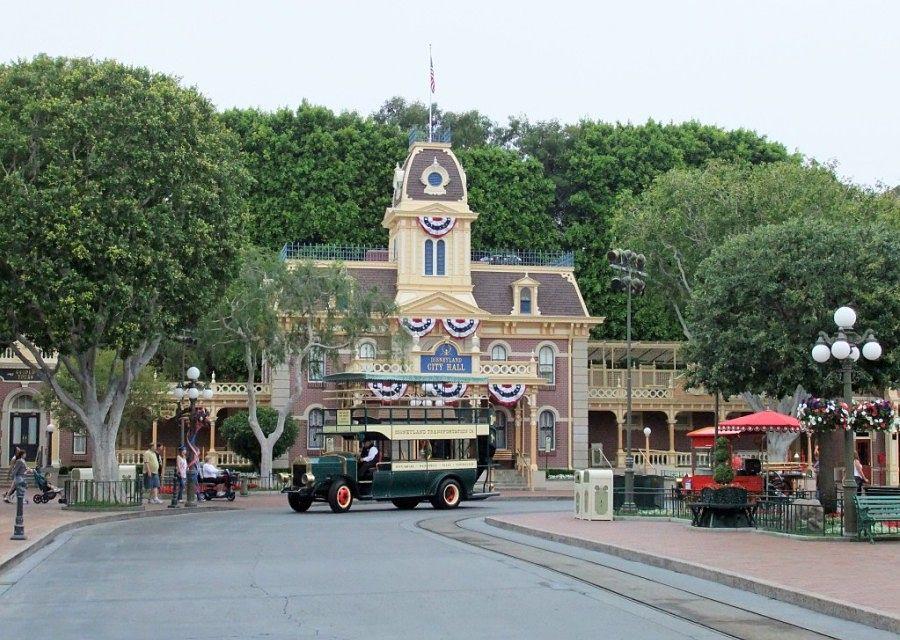 City Hall in Disneyland in Anaheim - Foto: © Adri van Esch