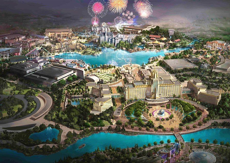Artist Impression van Universal Studios Beijing
