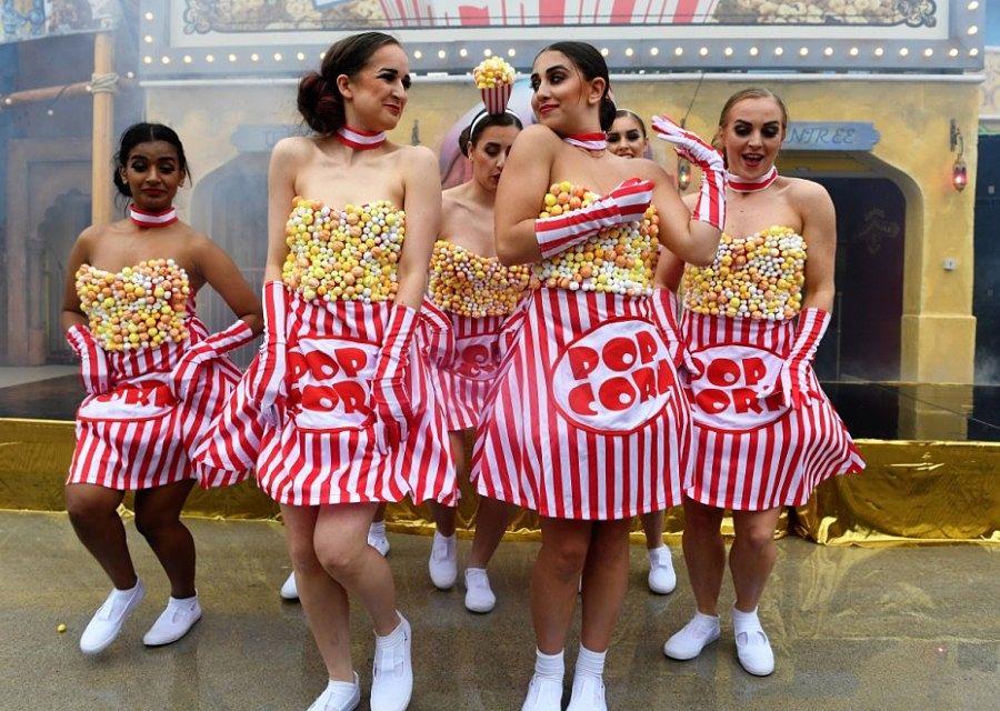 De opening van darkride Popcorn Revenge in Walibi Belgium