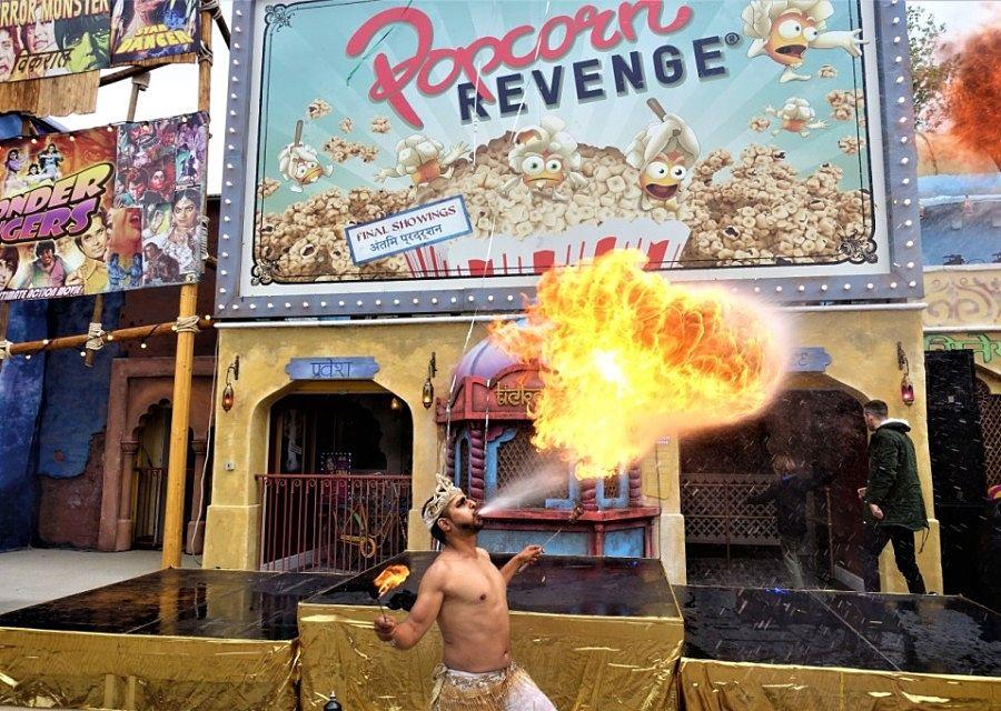 De opening van darkride Popcorn Revenge in Walibi Belgium - Foto: © Adri van Esch