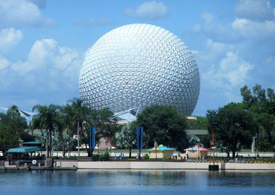 Spaceship Earth in Epcot in Walt Disney World - Foto: © Adri van Esch