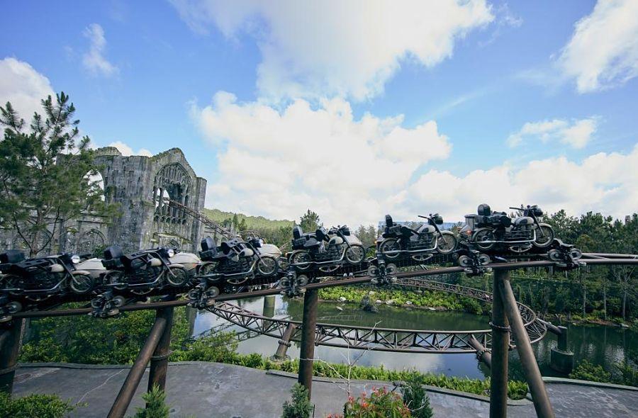 Hagrid's Magical Creatures Motorbike Adventure in Universal's Islands of Adventure