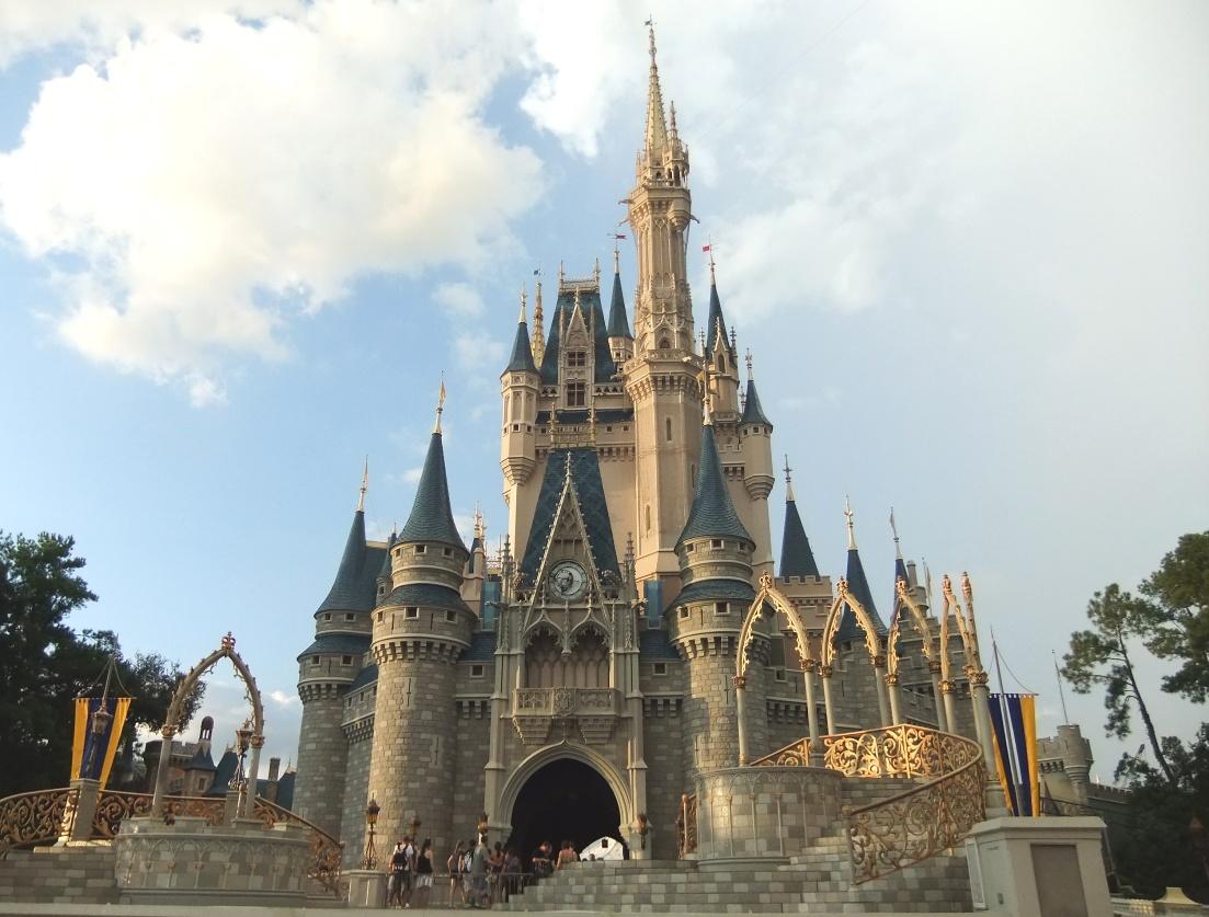 Kasteel in het Magic Kingdom in Walt Disney World - Foto: © Adri van Esch
