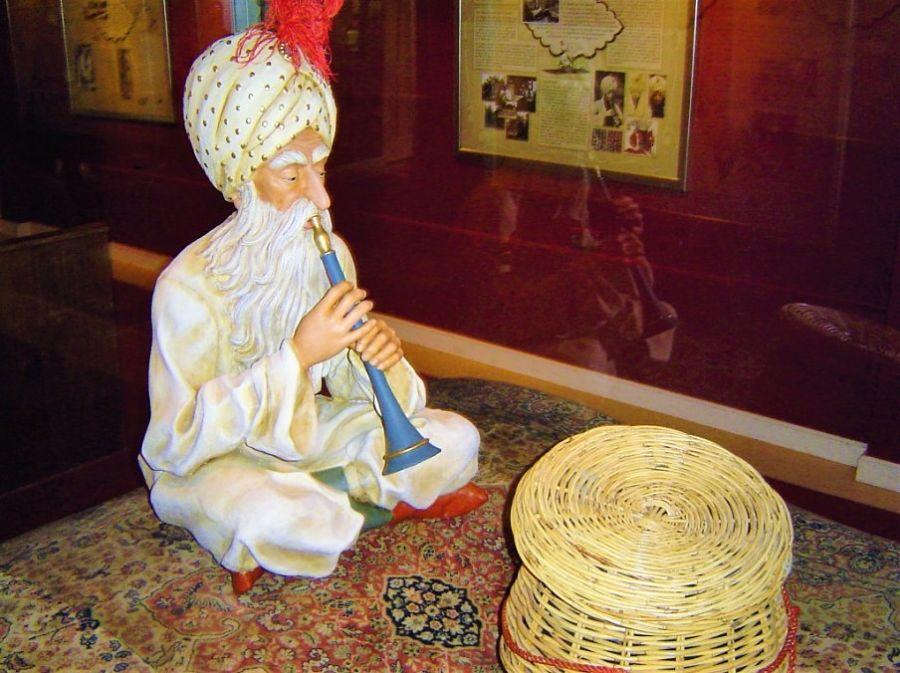 De Fakir in het Efteling Museum - Foto: © Adri van Esch
