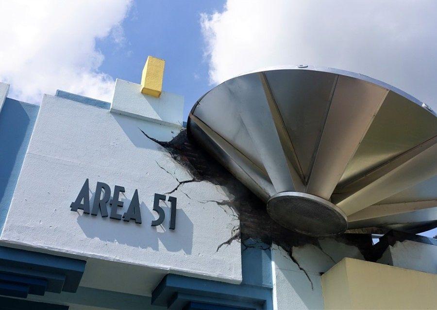 Area 51 - Top Secret in Movie Park Germany - Foto: © Adri van Esch