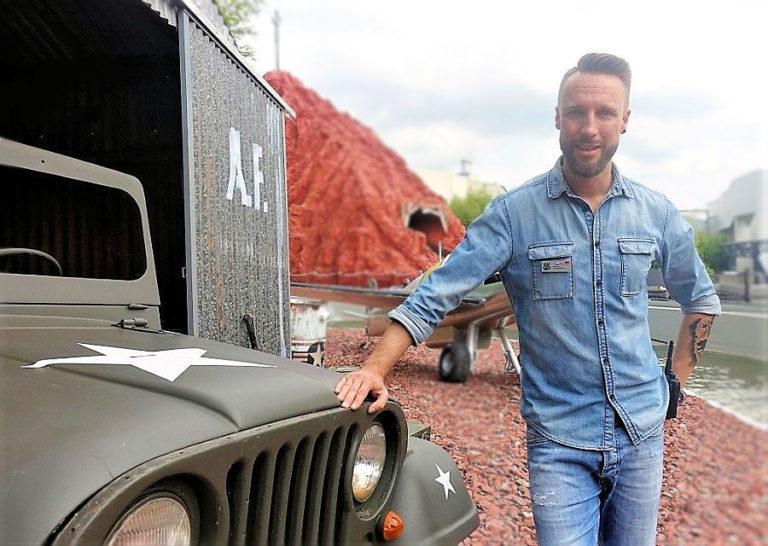 Manuel Prossotowicz van Movie Park Germany bij Area 51 - Top Secret - Foto: © Adri van Esch