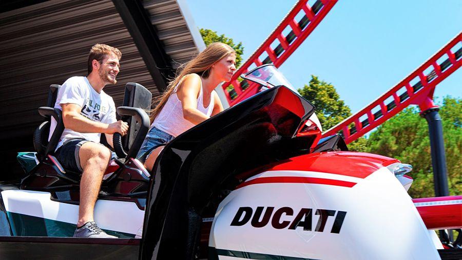 Desmo Race in Ducati World in Mirabilandia