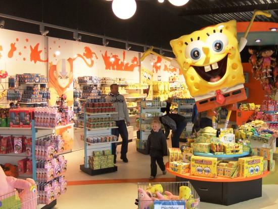 De Nick Shop in Movie Park Germany - Foto: (c) Parkplanet