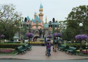 Het kasteel van Disneyland in Californië - Foto: © Adri van Esch
