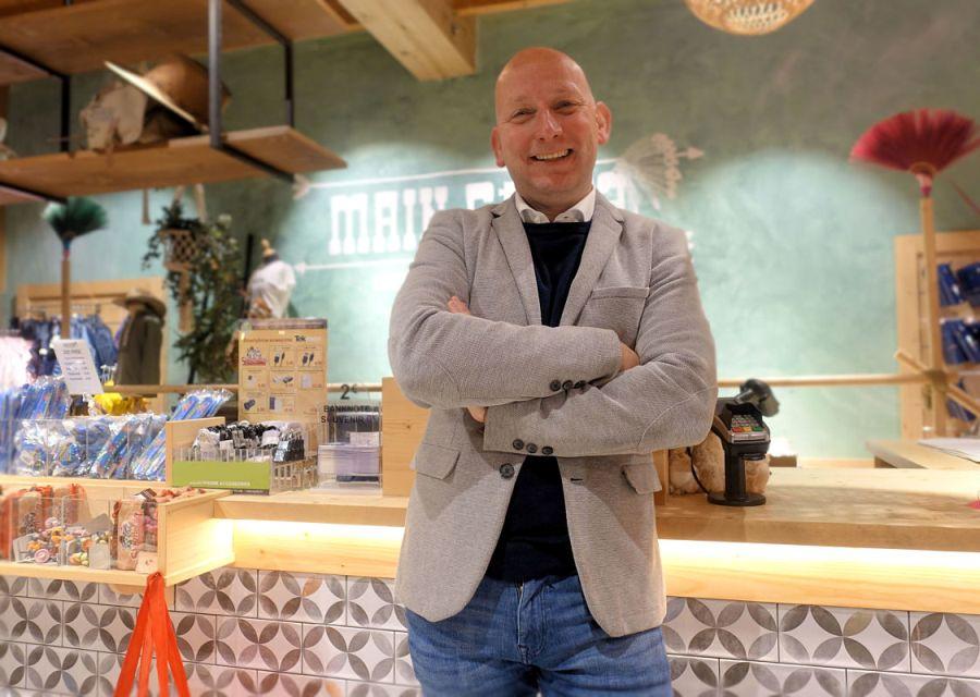 Dave Storm, algemeen directeur van Attractie- en Vakantiepark Slagharen - Foto: © Adri van Esch