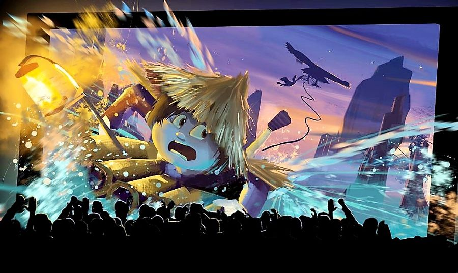 A Fish Tale in het theater - Beeld: Aardman Animations