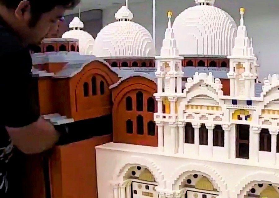 Model voor Miniland in Legoland Waterpark Gardaland
