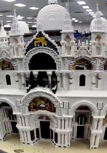Model voor Legoland Waterpark Gardaland