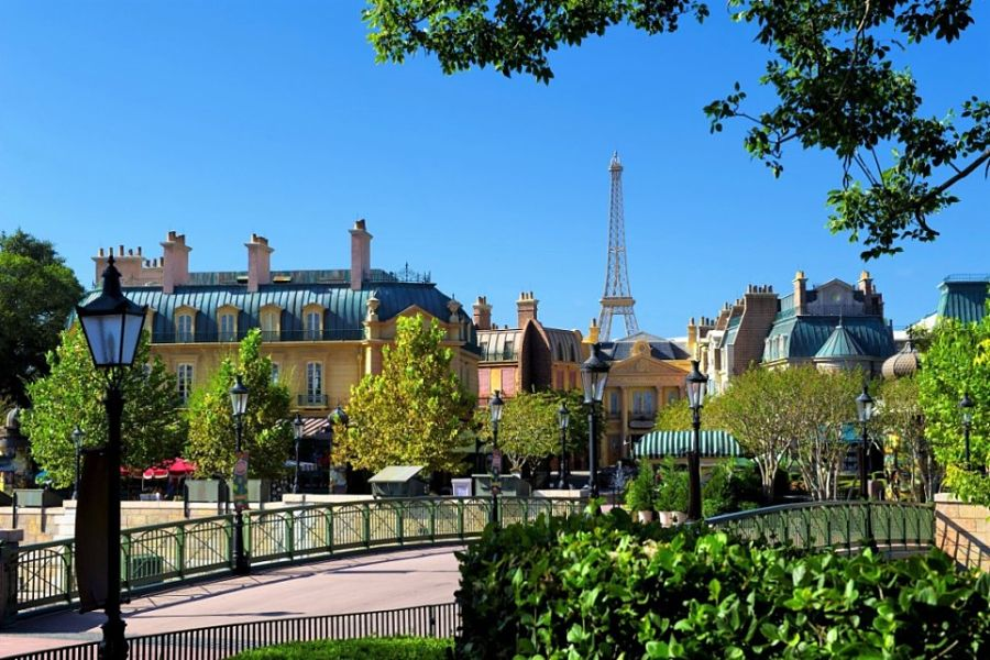 Frankrijk in Epcot - Foto: ©  Disney / Gene Duncan