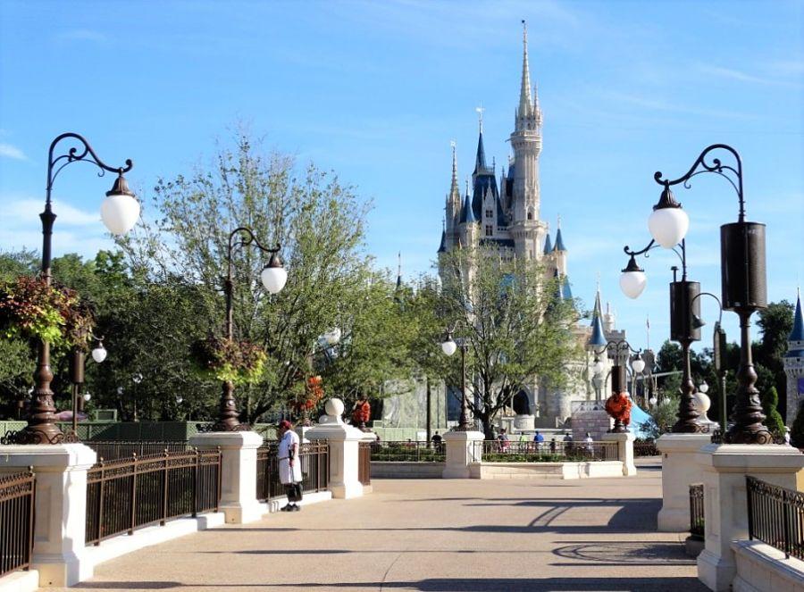 Het kasteel van Cinderella in het Magic Kingdom - Foto: ©  Adri van Esch