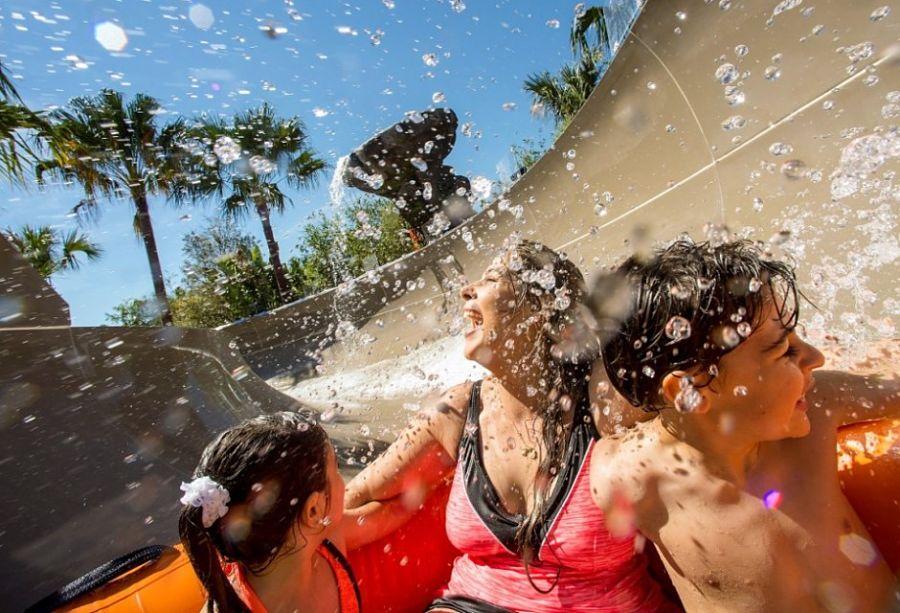 Miss Adventure Falls in Typhoon Lagoon in Walt Disney World - Foto: © Disney / Kent Phillips