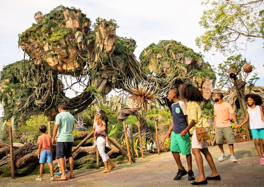 Pandora, World of Avatar in Animal Kingdom in Walt Disney World - Foto: David Roark / Disney