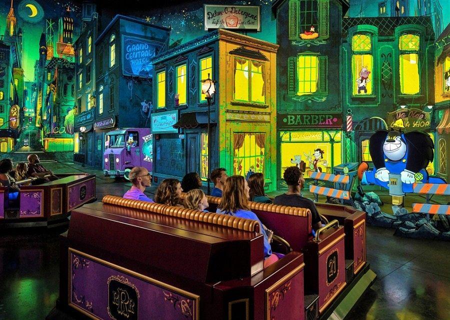 Mickey & Minnie's Runaway Railway in Hollywood Studios in Walt Disney World - Foto Kent Phillips / Disney