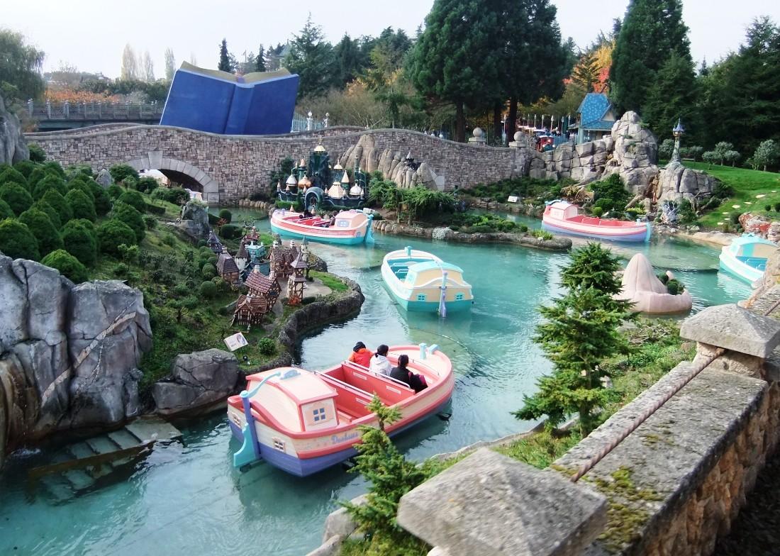 Le Pays des Contes de Fées in Fantasyland in Disneyland Paris – Foto: © Adri van Esch