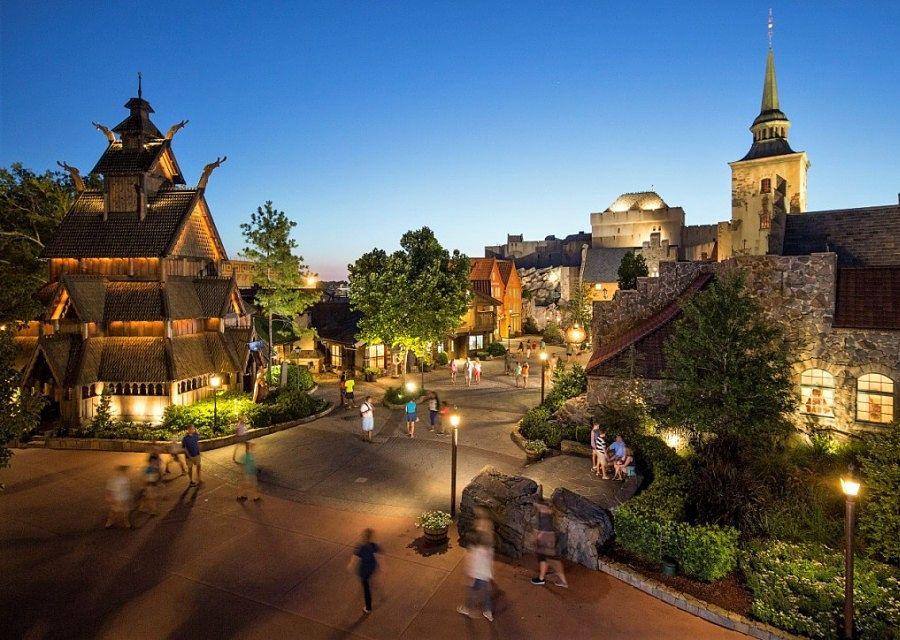 Paviljoen van Noorwegen in Epcot in Walt Disney World - Foto: Matt Stroshane / Disney