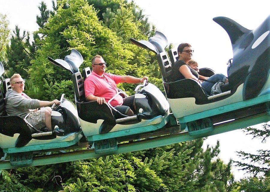 Orca Ride in Boudewijn Seapark - Foto: © Adri van Esch
