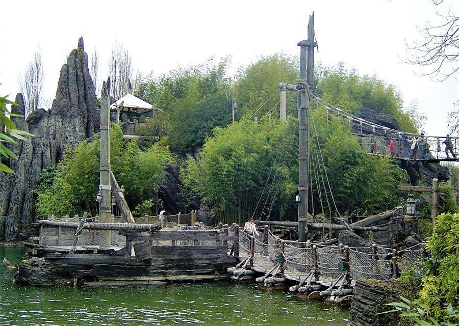 Adventure Isle in Adventureland in Disneyland Paris – Foto: © Adri van Esch