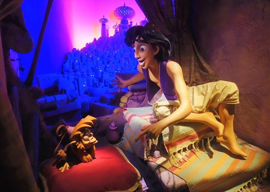 Le Passage Enchanté d'Aladdin in Adventureland in Disneyland Paris – Foto: © Adri van Esch