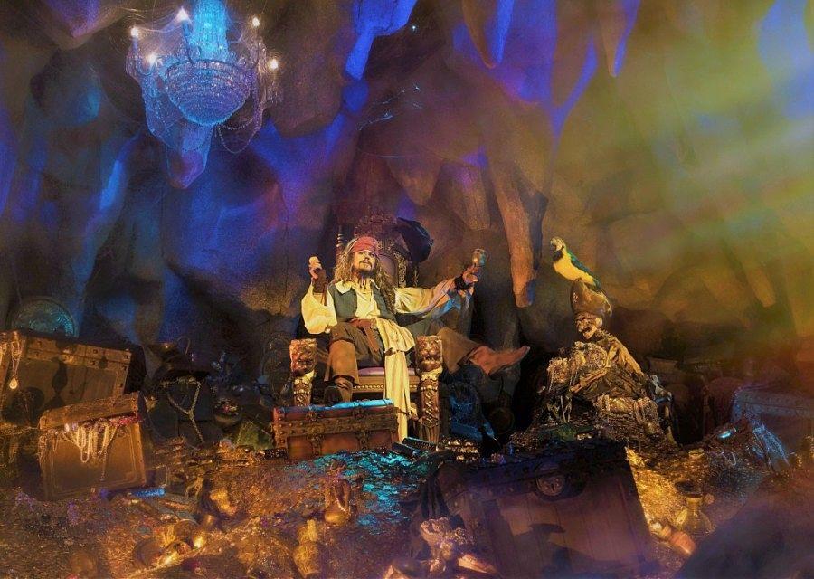 Pirates of the Caribbean in Adventureland in Disneyland Paris – Foto: © Disney